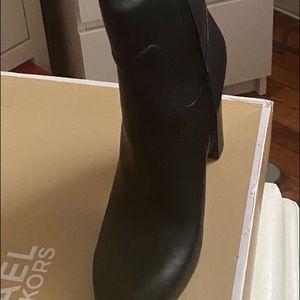 Michael Kors women's high boots Leather